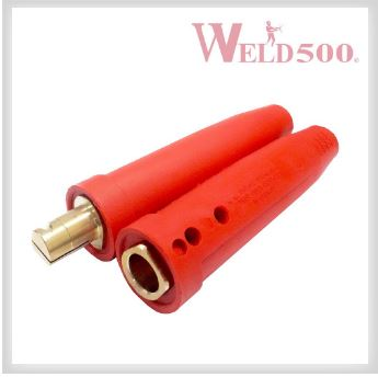 CONECTOR WLD*2-MBP-RE COLOR ROJO